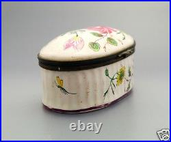 1770 Antique French Faience Veuve Perrin large Box