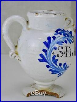 18th Century French faience chevrette