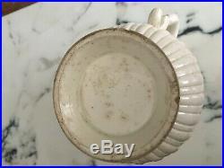 18th century FRENCH RARE 1710-20 FAIENCE Saint-Cloud jug rice design