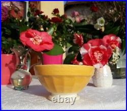 3 lovely antique french Bowls Digoin yellow orange green Art deco 1930s