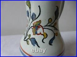 Ancien petit pichet faience Nord France 18ème Antique french earthenware pitcher