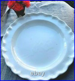 Antique French 18th Century Creamware Faience Charger Plate Platter