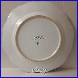 Antique French Faience Charger/Plate French Revolution Vive'W' la nation