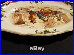 Antique French Faience Hand Painted Platter 18th Century