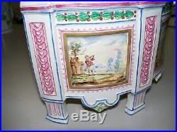 Antique French Faience Paul Hannong Jardiniere circa 1744