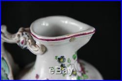 Antique French Faience Vinegar oil table set pitcher Dragon gothic Quimper