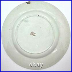 Antique Harry Potter Looking French Faience Plate with Dragon / Eagle Luneville