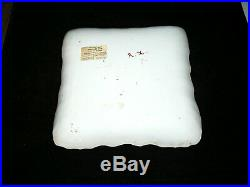 Antique Joseph-Gaspard Robert French Faience Square Plate