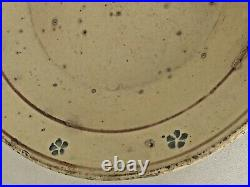 Antique Lg. Country French / Italian Faience Pasta Plate / Bowl 15 3/8 diameter