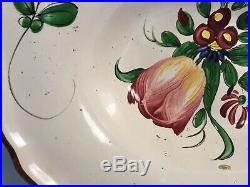 Antique Really Old French Faience Barbers Bowl c. Early1800s