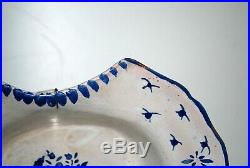 Antique and Collectible French Faience Barbers Bowl, Shaving Bowl, Circa 1800