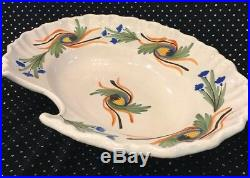 Antique early 19th Century French Faience Barber Bleeding Bowl YSL Estate