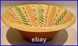 French Antique Confit Pot Stoneware Glaze Faience Bowl Earthenware Vessel Plate