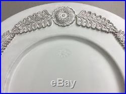 French Faience Large White Platter in Great Condition