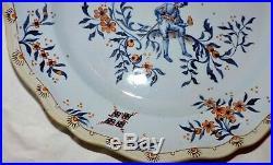 Mint Antique French Gallé Nancy Faience Earthenware Dish C. 1909 /2