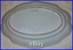 Mint Antique French Gallé Nancy Faience Earthenware Dish C. 1909 /3