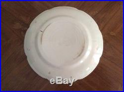 Plate Antique French Napoleonic Faience Plate c. 1810
