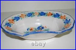 Rare Antique & Collectible French Faience Barbers Bowl, Shaving Bowl, Circa 1820