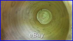 Terracotta Ceramic Jug Faience French Antique Pottery Green Glaze Pot A Confit